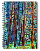 In A Pine Forest Spiral Notebook