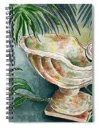 In A Tropical Garden  Spiral Notebook