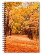 In Autumn Spiral Notebook