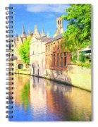 In Bruges Spiral Notebook