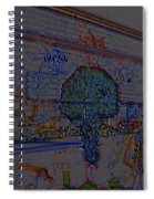 In Color Abstract 4 Spiral Notebook