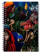 The Company Of Wolves Spiral Notebook