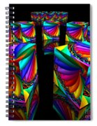 In Different Colors Thrown -3- Spiral Notebook