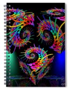 In Different Colors Thrown -9- Spiral Notebook