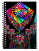 In Different Colours Thrown -6- Spiral Notebook