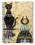 In Dreams Of Ricky Bobbie And Me In Egypt Spiral Notebook