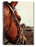 In French Chevel Spiral Notebook