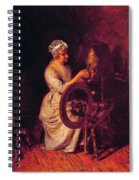 In Grandmothers Time 1876 Spiral Notebook
