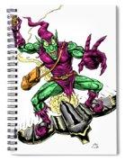 In Green Pursuit Spiral Notebook