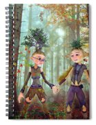 In Harmony With Nature Spiral Notebook