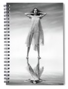 In Heaven There Are Angels Spiral Notebook