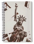 In Liberty Of New York Spiral Notebook