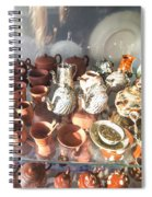 In London Museums 8 Spiral Notebook