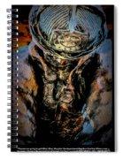 In Memoriam - Oil Spiral Notebook