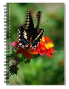 In Motion Spiral Notebook