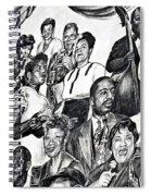 In Praise Of Jazz IIi Spiral Notebook
