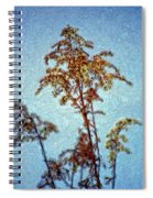 In Praise Of Weeds II Spiral Notebook