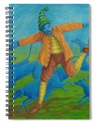 In Pursuit Of Anything. Spiral Notebook