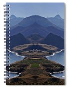 In Search Of Atlantis Spiral Notebook