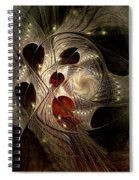 In Search Of The Lost Chord Spiral Notebook