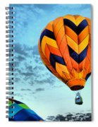 In Take Off Mode Spiral Notebook