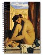 In The Bath Spiral Notebook