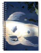In The Blue World Spiral Notebook