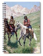 In The Cheyenne Country Spiral Notebook