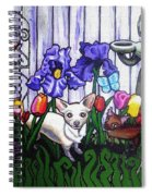 In The Chihuahua Garden Of Good And Evil Spiral Notebook