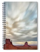 In The Clouds Spiral Notebook