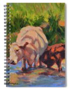In The Creek Spiral Notebook