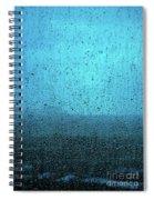 In The Dark Blue Rain Spiral Notebook