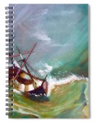 In The Eye Of The Storm Spiral Notebook