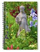 In The Flower Garden Spiral Notebook