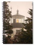 In The Fog Spiral Notebook