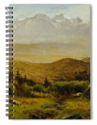 In The Foothills Of The Rockies Spiral Notebook