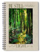 In The Forest With Words Spiral Notebook
