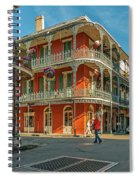 In The French Quarter - 3 Spiral Notebook