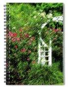 In The Garden Spiral Notebook