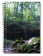 In The Garden Of The Rocks Spiral Notebook