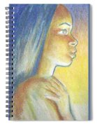 In The Glow Spiral Notebook