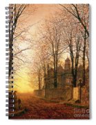 In The Golden Olden Time Spiral Notebook