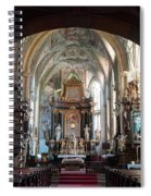 In The Gothic-baroque Church Spiral Notebook