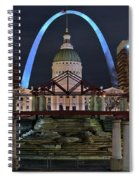 In The Heart Of St Louis Spiral Notebook