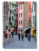 In The Heart Of Town Spiral Notebook