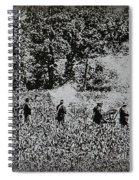 In The Heat Of Battle - Gettysburg Pa Spiral Notebook