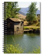 In The High Country Spiral Notebook