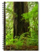 In The Land Of Giants Spiral Notebook