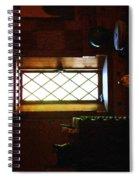 In The Lattice-windowed Attic Spiral Notebook