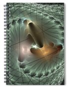 In The Mesh Spiral Notebook